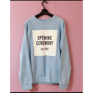 OPENING CEREMONY - OPENING CEREMONY スウェット