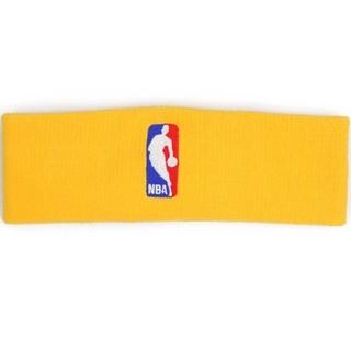 ナイキ(NIKE)の新品 NIKE ナイキ NBA プロ使用モデル ヘッドバンド イエロー(トレーニング用品)