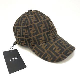 フェンディ(FENDI)の4779 FENDI ズッカ キャップ 帽子(キャップ)