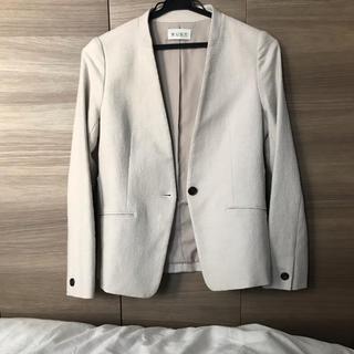PLST - PLST スラブストレッチ カラーレス ジャケット