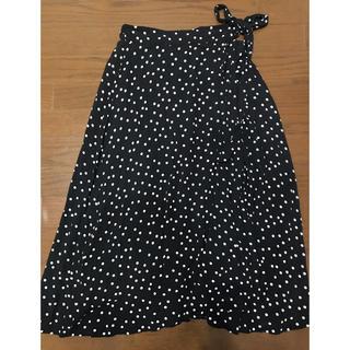 ミラオーウェン(Mila Owen)のミラウォーエンドットスカート(ロングスカート)