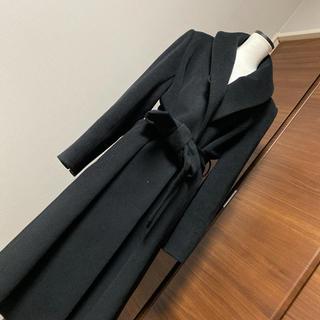 TOMORROWLAND - 高島屋今季購入東京ソワール女優襟ロングコート