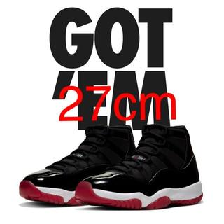 27cm Nike Air Jordan 11 Bred ナイキ