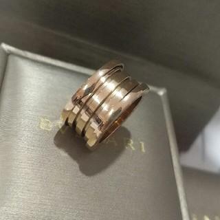 ブルガリ(BVLGARI)の美品!ブルガリBvlgari リング 指輪 男女兼用 ファッション(リング(指輪))