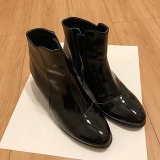 エレガンスヒミコ(elegance卑弥呼)のレインブーツ 24.5cm 卑弥呼(レインブーツ/長靴)