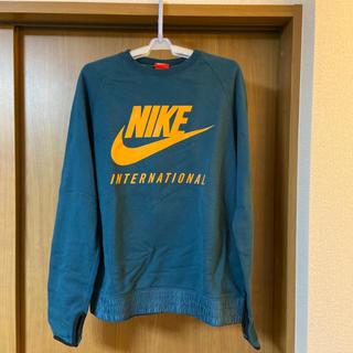 ナイキ(NIKE)の【Lサイズ】Nike ナイキ INTERNATIONAL CREW (スウェット)