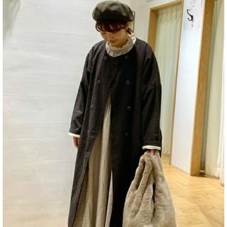 サマンサモスモス(SM2)の新品 今季 SM2 ワイド ダブル 釦 コート(ロングコート)