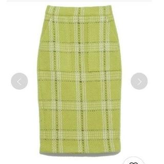 FRAY I.D - FRAY I.D ウールタイトスカート