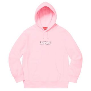 Supreme - Supreme Bandana Box Logo Hooded (Pink/M)