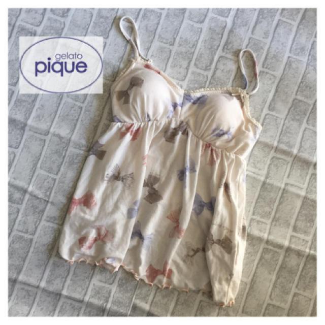 gelato pique(ジェラートピケ)のタグ無し未使用 ジェラートピケ  キャミソール ルームウェア レディースのトップス(キャミソール)の商品写真