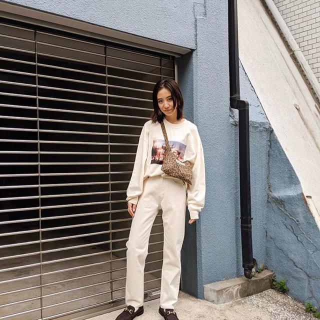 moussy(マウジー)の店舗限定スウェット レディースのトップス(トレーナー/スウェット)の商品写真