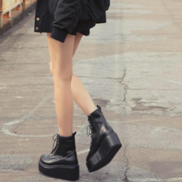 GRL(グレイル)のグレイル 厚底 レディースの靴/シューズ(ローファー/革靴)の商品写真