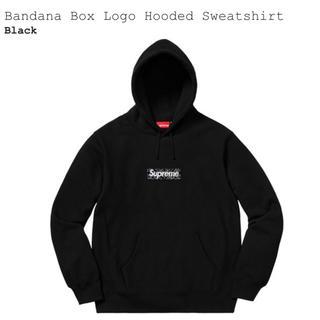 Supreme - supreme box logo hoodie black M