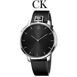 Calvin Klein - CALVIN KLEIN  クォーツ ウォッチ 腕時計 ブラック/シルバー