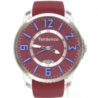テンデンス(Tendence)のテンデンス TG131001 スリムポップ ワインレッド ユニセックス 腕時計(腕時計)