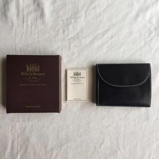 ホワイトハウスコックス(WHITEHOUSE COX)の【クリスマス期間限定】ホワイトハウスコック三つ折り(折り財布)