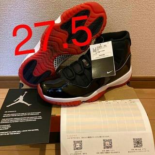NIKE -  NIKE AJ 11 BLACK/RED