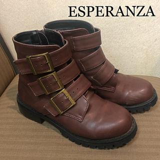 エスペランサ(ESPERANZA)のエスペランサ♡ エンジニアブーツ 送料込み♪(ブーツ)