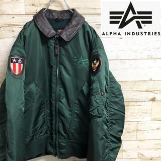 アルファインダストリーズ(ALPHA INDUSTRIES)のアルファインダストリーズ ミリタリージャケット CWU-45(フライトジャケット)
