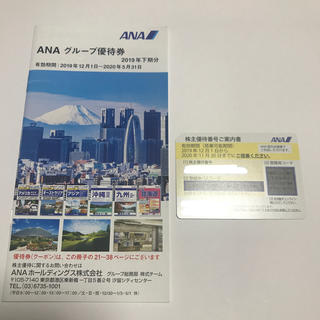 ANA(全日本空輸) - ANA 株主優待 ①