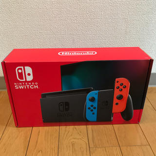 Nintendo Switch - 【新品未使用】Nintendo Swichi ネオン3台 グレー1台