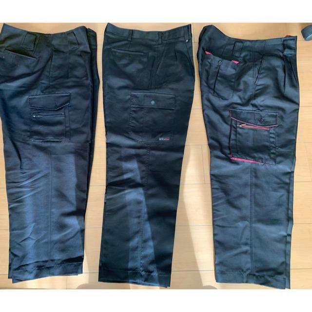 寅壱(トライチ)のワーク作業ズボン3本 まとめ売り メンズのパンツ(ワークパンツ/カーゴパンツ)の商品写真