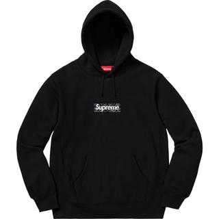 Supreme - S Supreme Bandana Box Logo Hooded 黒 国内正規