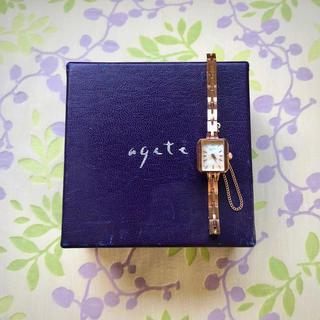 アガット(agete)のagete   ㉟    腕時計・稼動品✨(腕時計)