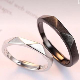 【指輪ケース付】 BS001 指輪 メンズ レディース リング 2個セット(リング(指輪))