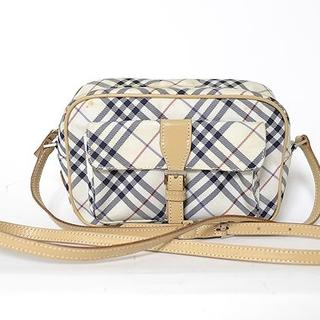 ■BURBERRY BLUE RABEL■nova check bag