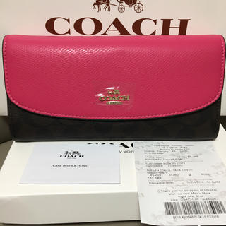 COACH - 即日発送 coach長財布54022 正規品 新品