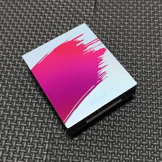 AUBE - 【新品】AUBE オーブ ブラシひと塗り チーク 02 ピーチ
