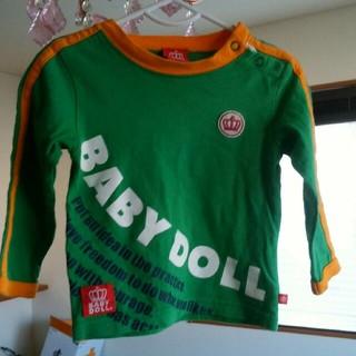 ベビードール(BABYDOLL)のベビードール長袖シャツ80(シャツ/カットソー)