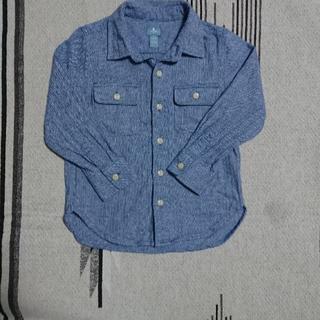 ギャップ(GAP)のbaby Gap 長袖シャツ サイズ110(ブラウス)