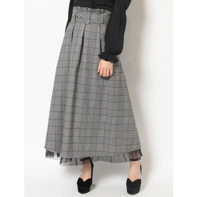 EATME(イートミー)の【限定値下げ】BOXタックフレアスカート EATME レディースのスカート(ロングスカート)の商品写真