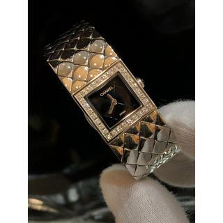 CHANEL - ラクマ限定価格【新品仕上げ】CHANEL❤️時計 純正ダイヤ
