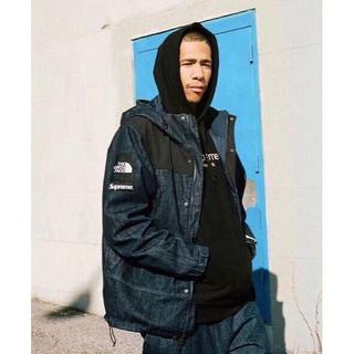 Supreme -  16SS the north face Denim  Jacke