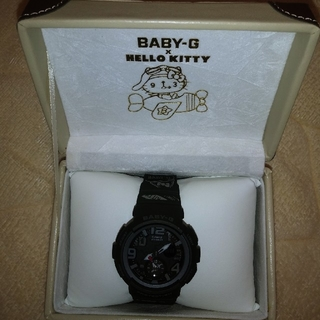 ベビージー(Baby-G)のBABY-G×HELLO KITTY(腕時計)
