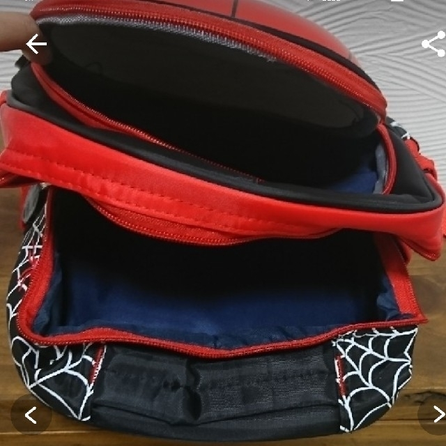 【新品】スパイダーマン  リュック キッズ/ベビー/マタニティのこども用バッグ(リュックサック)の商品写真