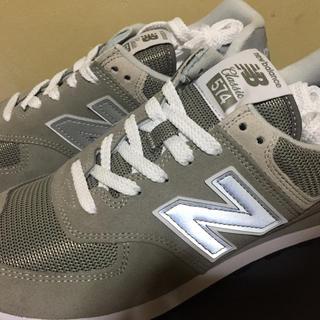 ニューバランス(New Balance)の新品 ニューバランススニーカー574のグレー26センチ(スニーカー)