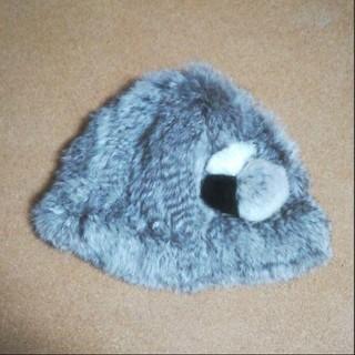 エージーバイアクアガール(AG by aquagirl)のAG by aquagirl ラビットファーの帽子 ファーハット(その他)