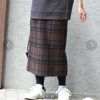 JOURNAL STANDARD - 美品★ジャーナルスタンダード  TWシャギーチェック ロングスカート