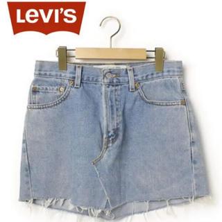 リーバイス(Levi's)のLEVI'S デニムスカート(ミニスカート)