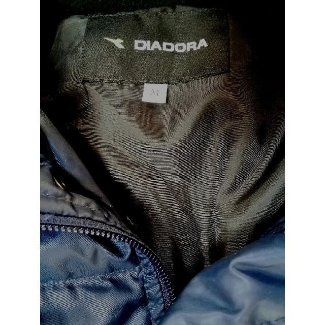 DIADORA(ディアドラ)の⚡ゲリラ⚡【外使用してない極美品!1.7万】ディアドラ ダウンベンチコート 紺M スポーツ/アウトドアのサッカー/フットサル(ウェア)の商品写真