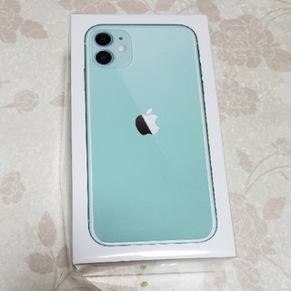 Apple - iPhone 11 green  simフリー