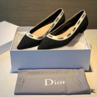 ディオール(Dior)の美品Diorフラットシューズ(ハイヒール/パンプス)