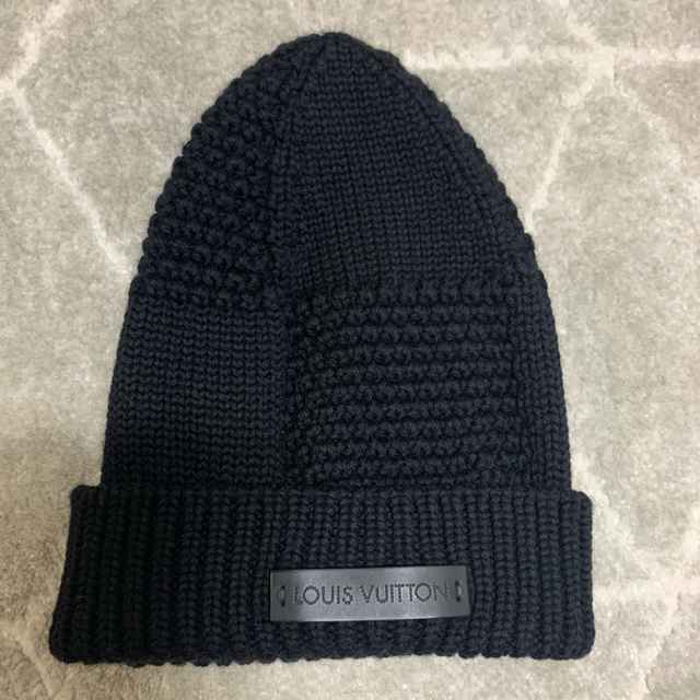 LOUIS VUITTON(ルイヴィトン)の試着のみ ルイヴィトン ニット帽 レディースの帽子(ニット帽/ビーニー)の商品写真