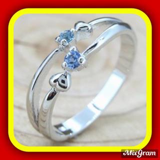 SWAROVSKI - ✨定価7800円✨★SWAROVSKI★ ピンキーリング ダブルハート 指輪