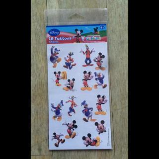 Disney - ミッキー タトゥーシール ハロウィン 顔や体に貼れる ボディーシール 仮装 新品