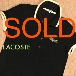 LACOSTE - LACOSTE❤︎おしゃれなポロシャツワンピース♡